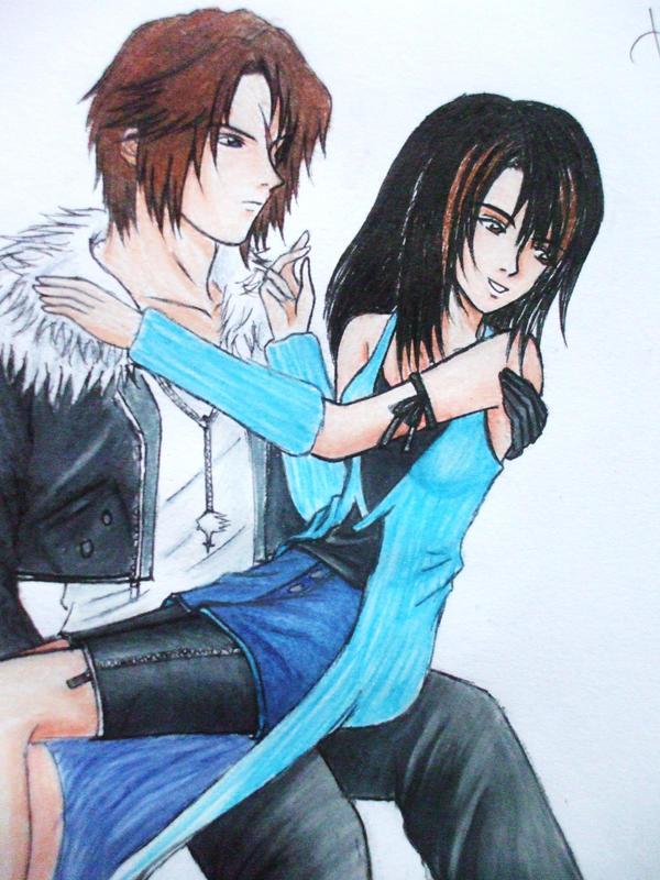 Squall And Rinoa Kiss Squall And Rinoa on Ragnarok