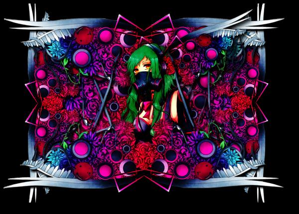 Flowergasmaskgirl by Mind-Designer