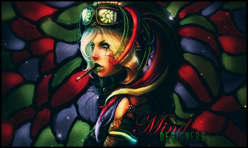 Goth girl by Mind-Designer