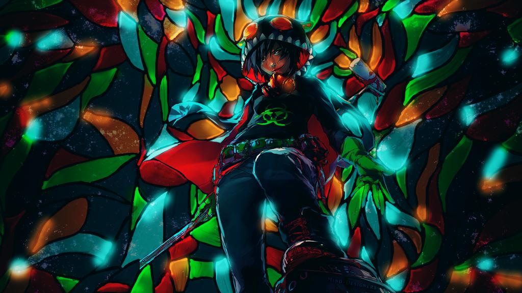 Fisheye Placebo Wallpaper by Mind-Designer