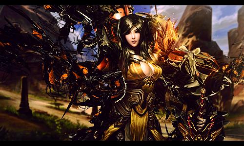 Femaleasianwarrior by Mind-Designer