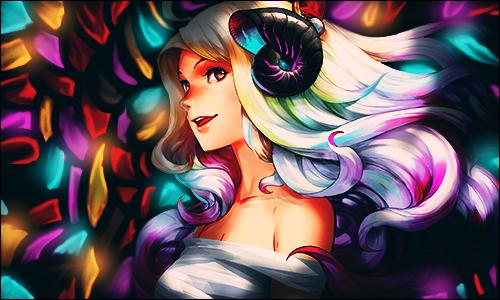 Rainbowhairgirl by Mind-Designer