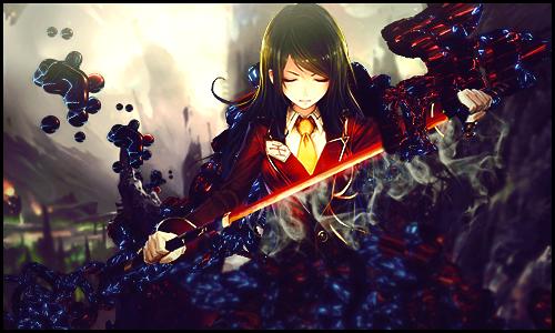 Girl samurai by Mind-Designer