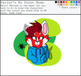 Don't use MS Paint colors for OCs, kids.