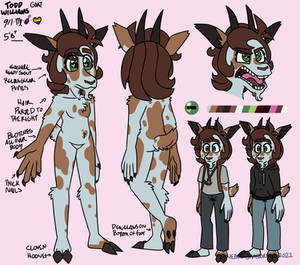 Todd - 2021 Reference Sheet
