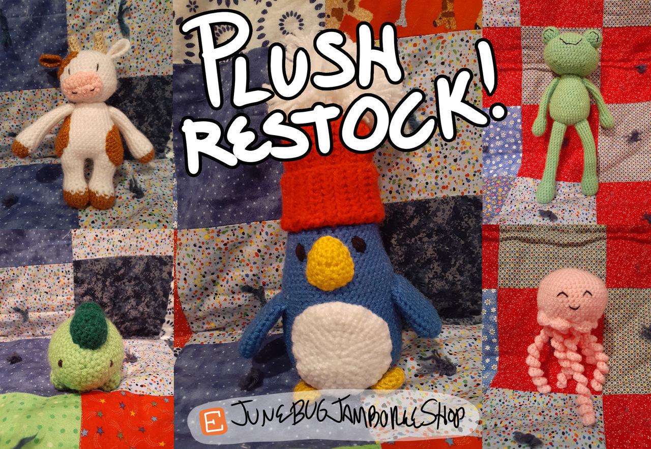 More Etsy Shop Plushies!