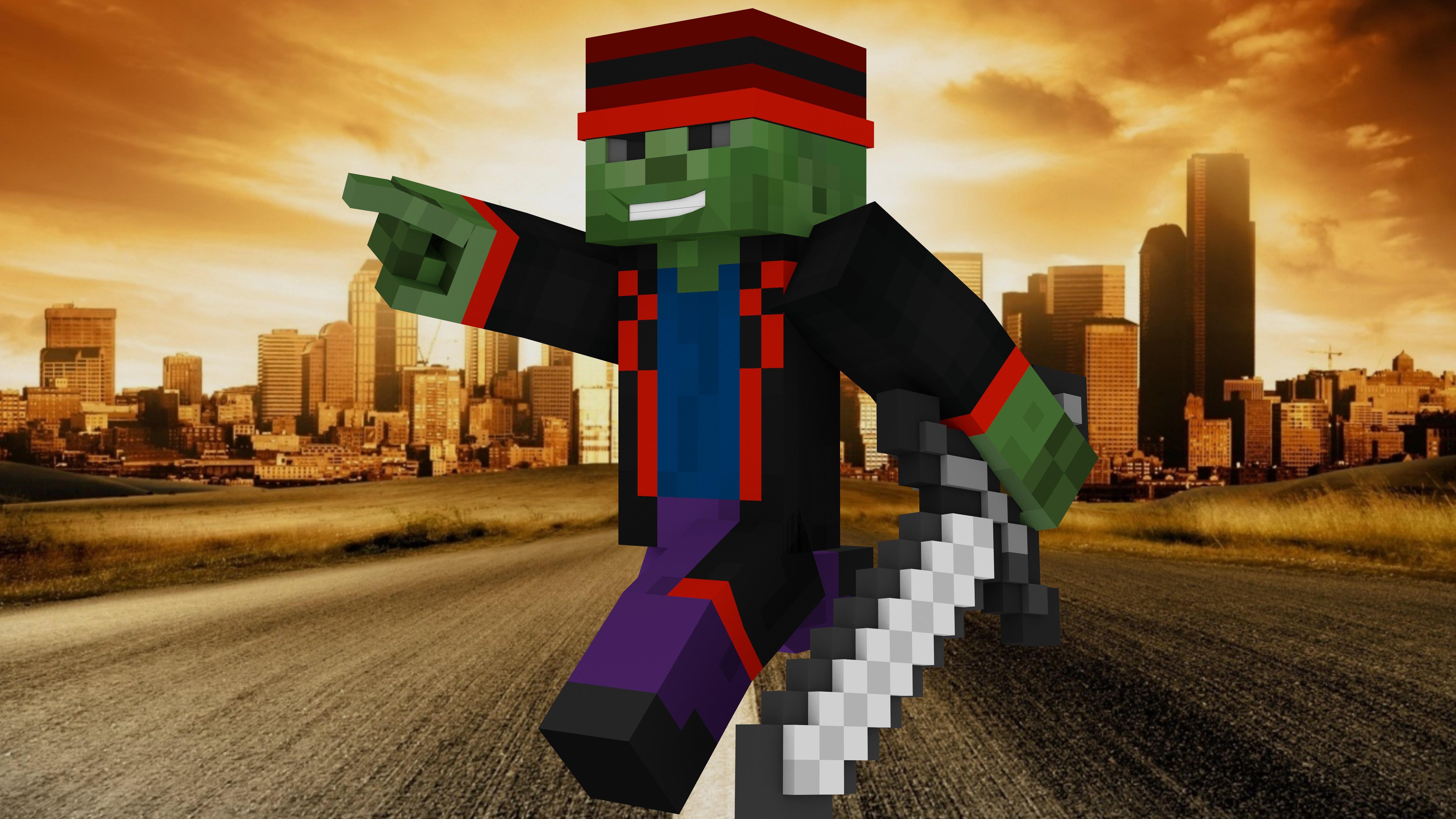 Cool Zombie (A Minecraft Skin) by Coreycool10 on DeviantArt