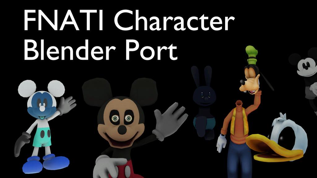 Character Modeling In Blender Download : Fnafti character blender port dl by coreycool on