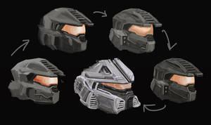 Halo (Master Chief) Helmet Study