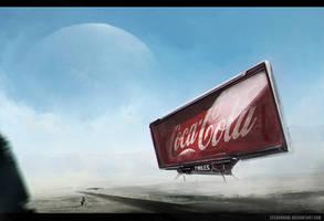 Coca Cola by zeedurrani