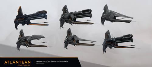 Concept Ship Thumbnails