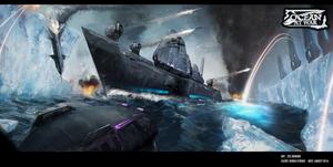 Ocean At War - Concept Art