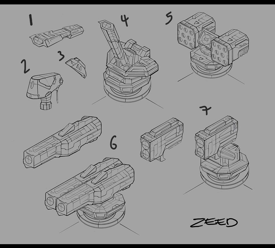 Various Bits by zeedurrani