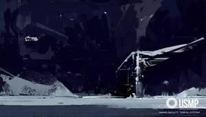 USMP Abandoned Moon Crane by zeedurrani