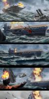 Ocean at War - Early Concept Explorations