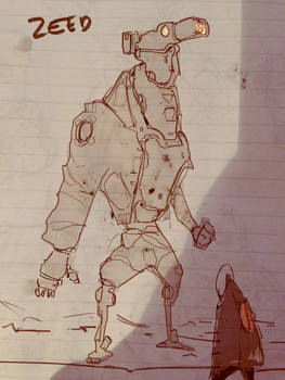 Mech Sketch - Kangaroo or Ant Eater ?