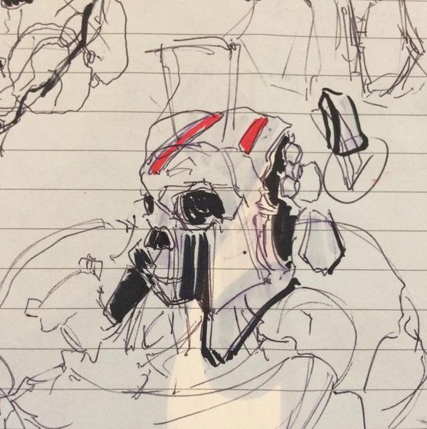Sketch Skull 240217 by zeedurrani