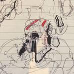 Sketch Skull 240217