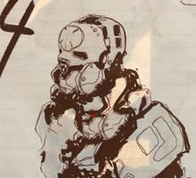Sketch Robot Head 07032017 by zeedurrani