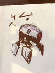 Mini Bot Doodle 10032017 by zeedurrani