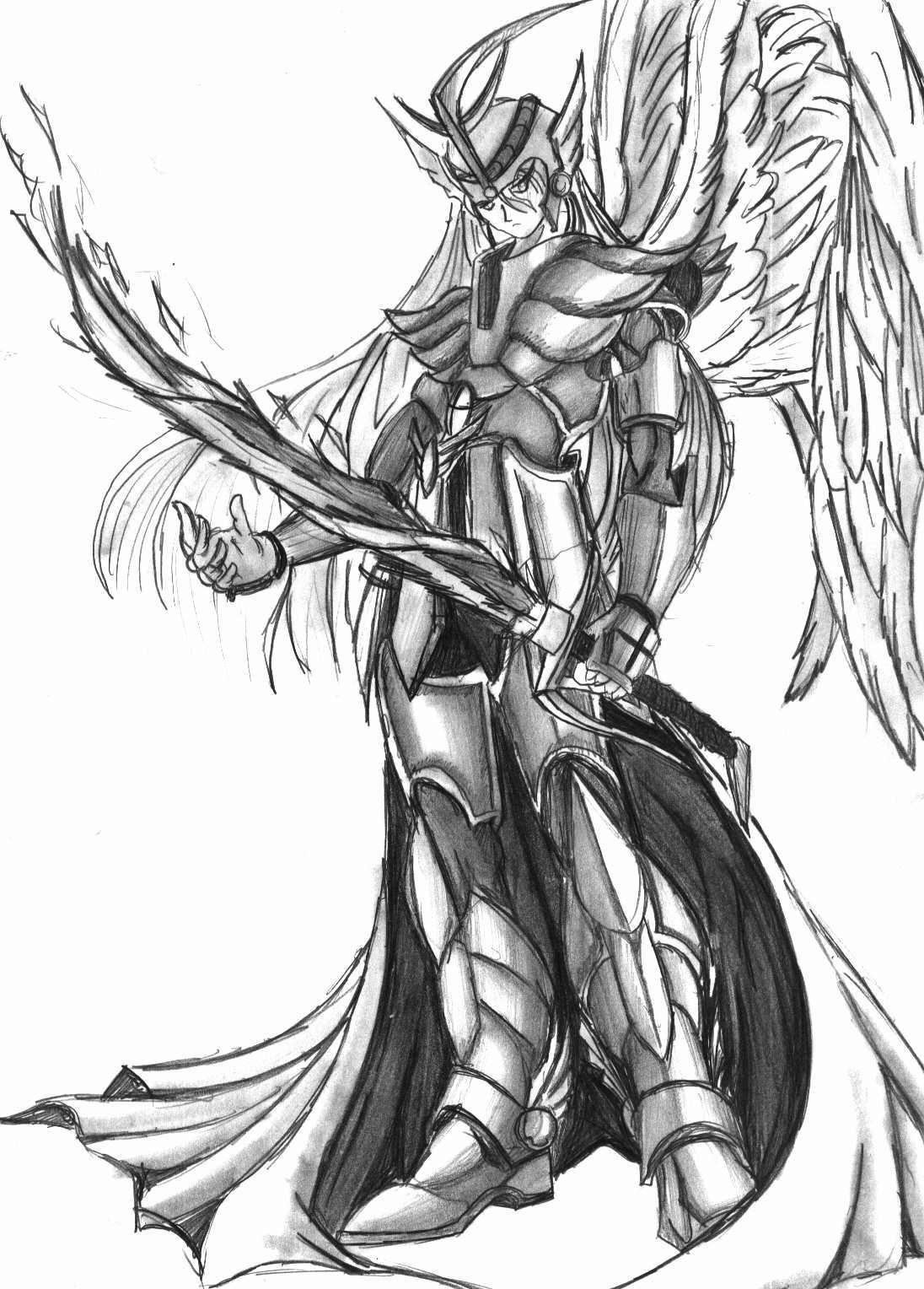 The Angelic Guardian Of Eden By Thirdeyeblind On Deviantart