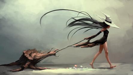 Rebirth - Goddess of Nature by NexxD