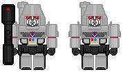 G1 Megatrons by SoundwaveSuperior