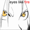 Icon - Eyes Like Fire by amestris-exile