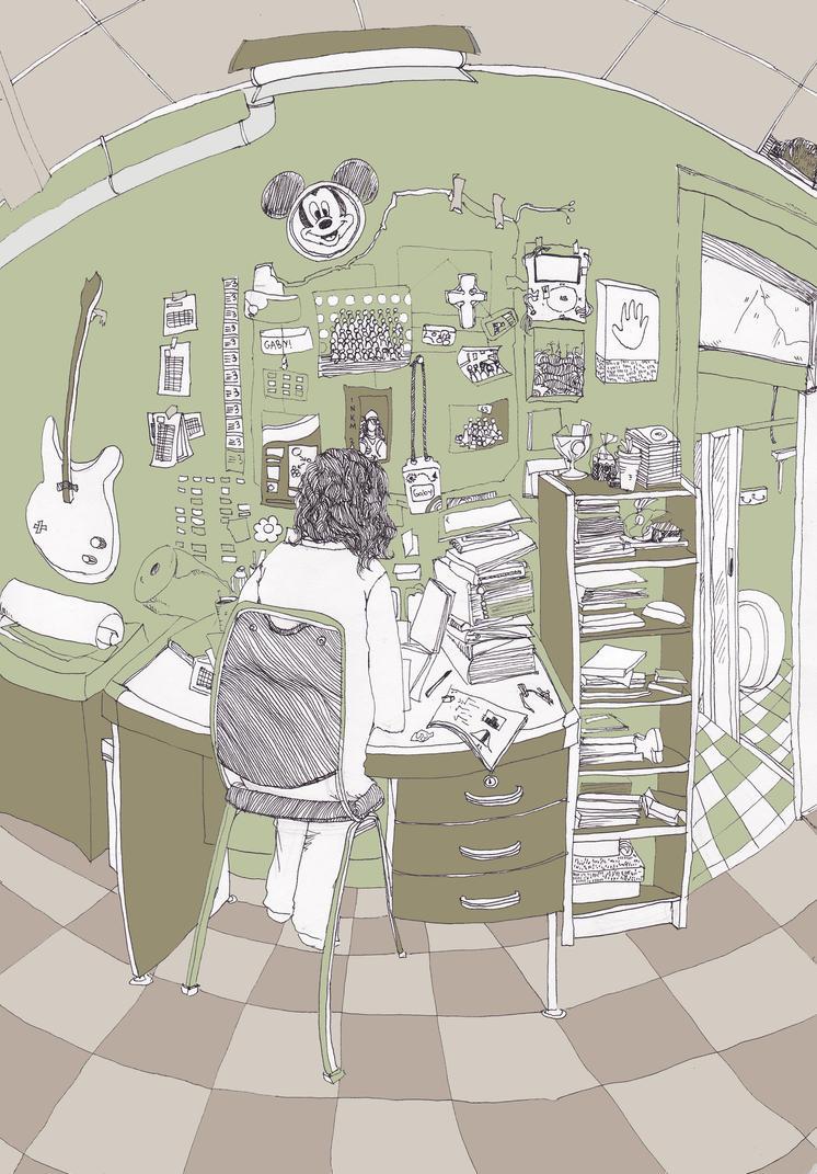 happy study gaby by peek-a-bow