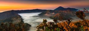 Dawn at Mount Bromo