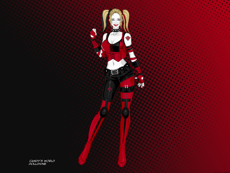 Harley Quinn (Arkham City) by Deviern on DeviantArt