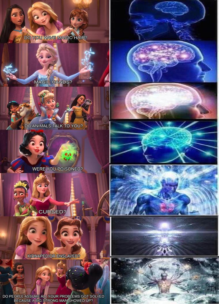 Hey Look A Brain Growth Meme By Vinesaucefan