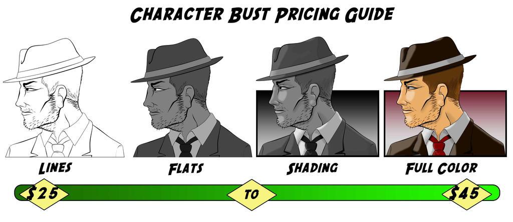 Bust Pricing by Kenjamin-Art-Design