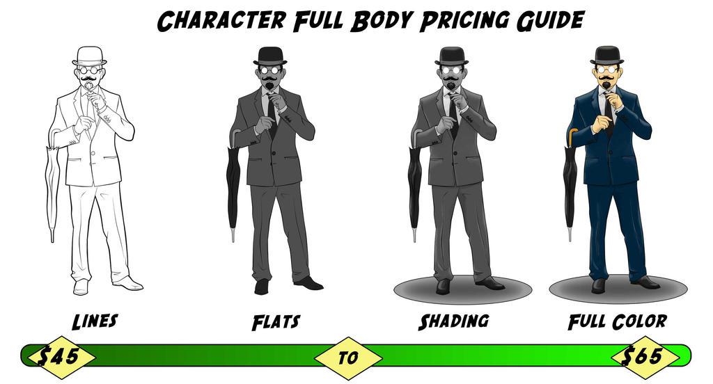 Body Pricing by Kenjamin-Art-Design