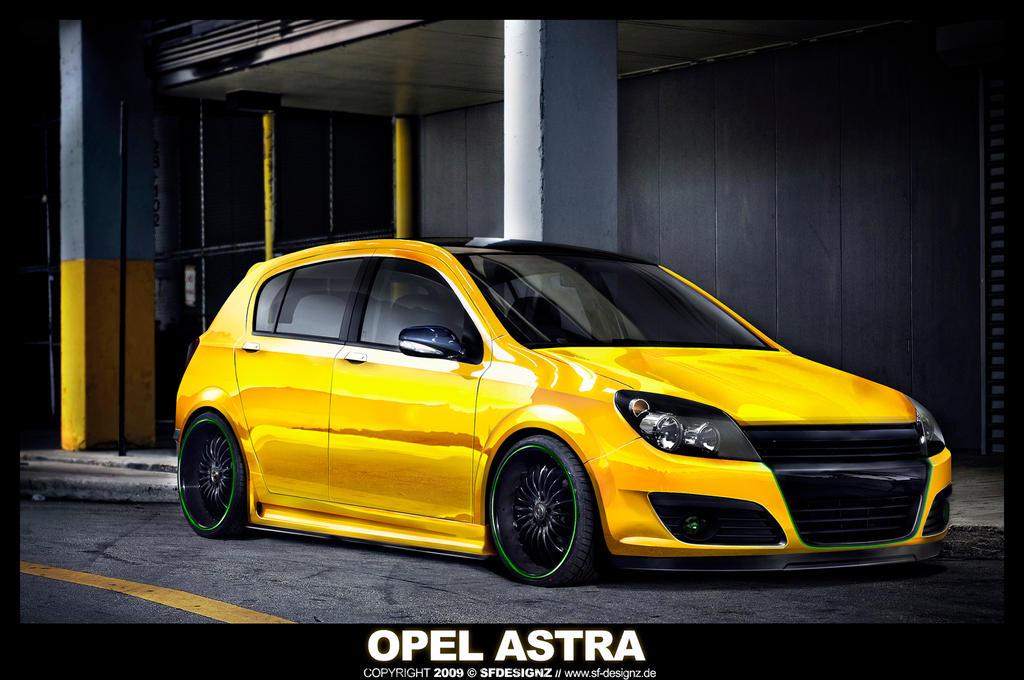 Vmod Opel Astra H V1 By Sfdesignz On Deviantart
