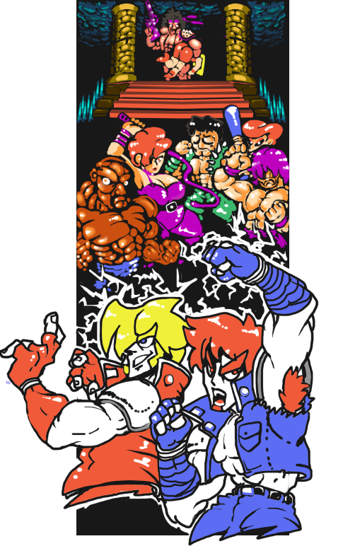 Double Dragon Nes By Riderx40 On Deviantart