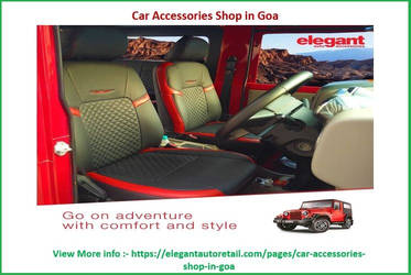 Car Accessories Shop in Goa by anil180