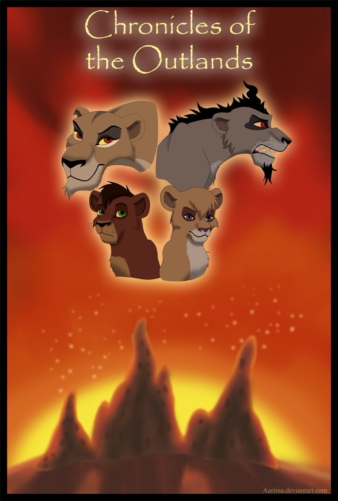 Chronicles of the Outlands - poster by Aariina