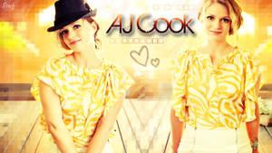 AJ Cook Wallpaper