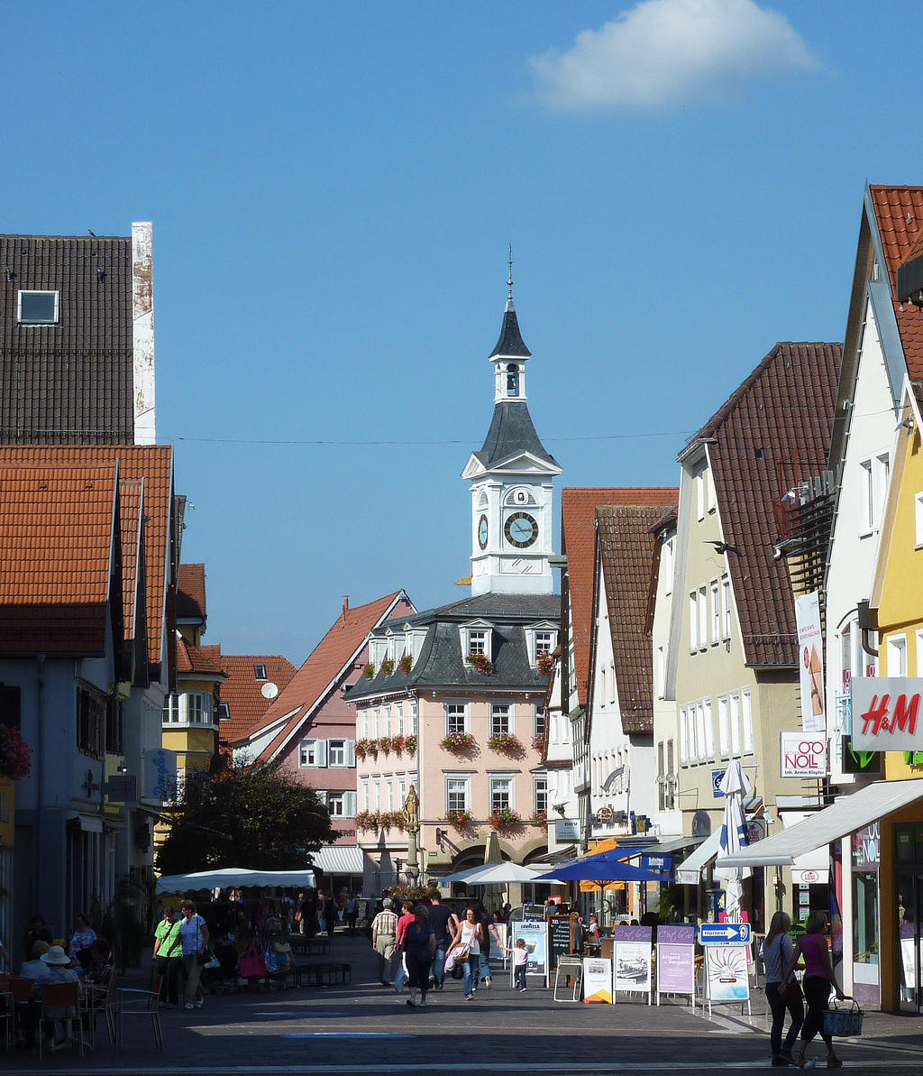 Aalen Germany  city photos gallery : Town center of Aalen Germany by go4music on DeviantArt