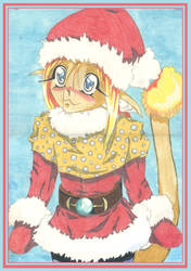 Christmas Cat Bro by Melmothia