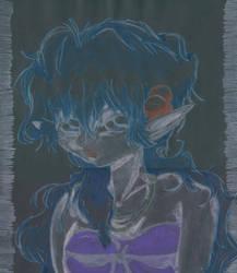 Dark elf by Melmothia