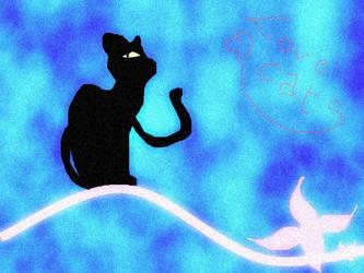 Cat Wallpaper by Melmothia