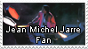 Jean Michel Jarre Stamp by Hossinfeffa