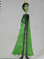 Prince Vince's Wedding Suit by VioletRose13-Art