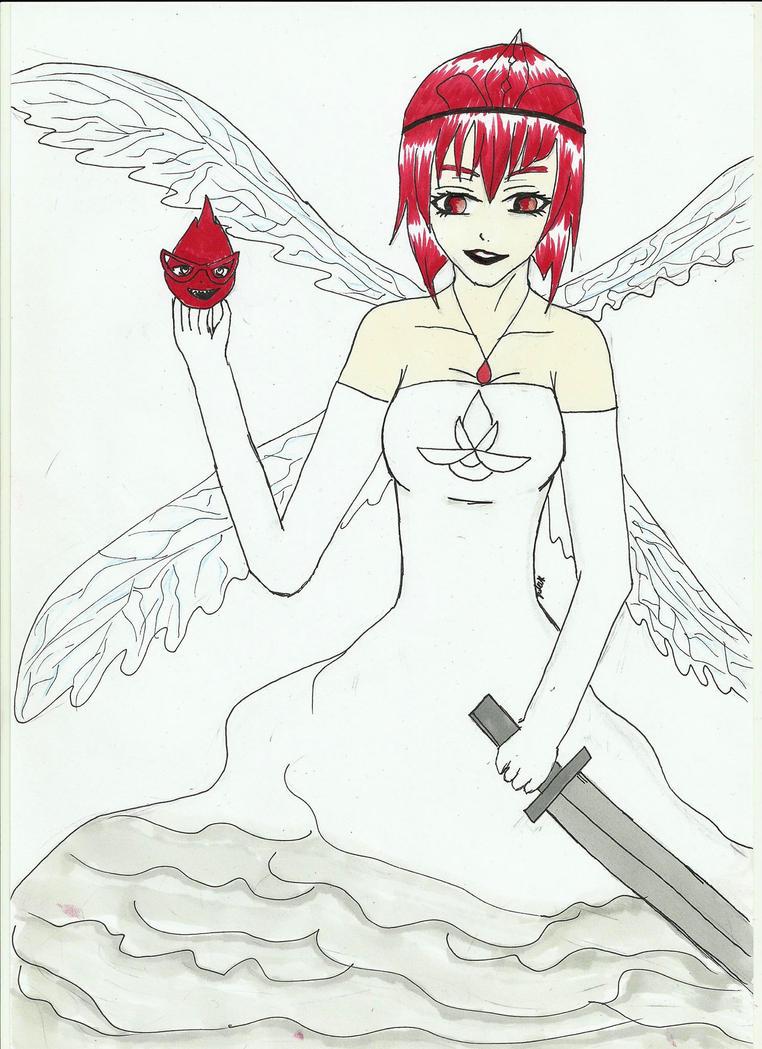 day fourth-Madame Red as Aurora by Attarien