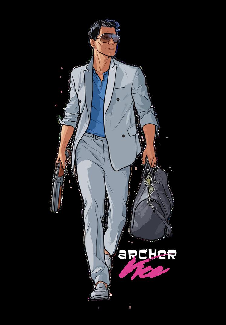 Archer Vice by HalLegion on DeviantArt
