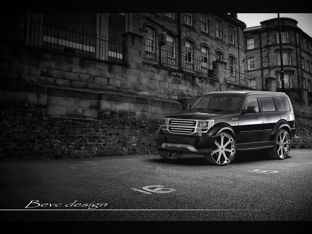 dodge nitro slt by straxer on deviantart. Black Bedroom Furniture Sets. Home Design Ideas