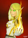 Loraelai [Commission] by Thankrast