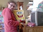 Me and SpongeBob by spongey-lady